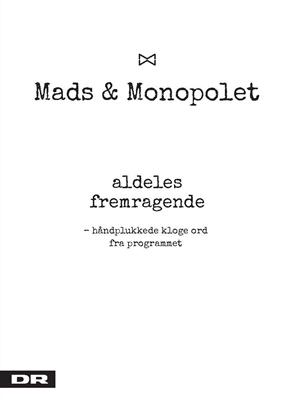 Aldeles fremragende Mads Steffensen 9788772000350