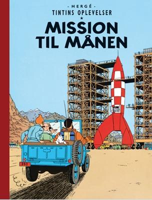 Tintins Oplevelser: Mission til Månen Hergé 9788770851589
