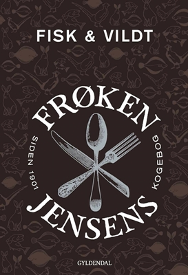 Frøken Jensens Kogebog Kristine Marie Jensen 9788702233025