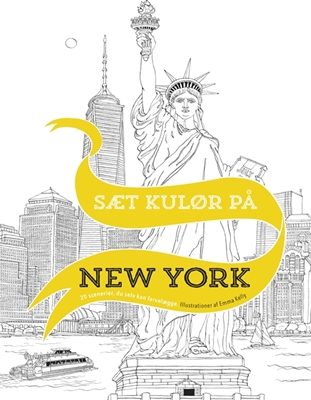 Sæt kulør på New York Emma Kelly 9788702191387
