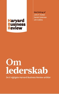 Om lederskab Harvard Business Review 9788702224313