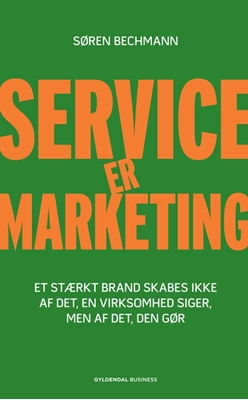 Service er marketing Søren Bechmann 9788702120424