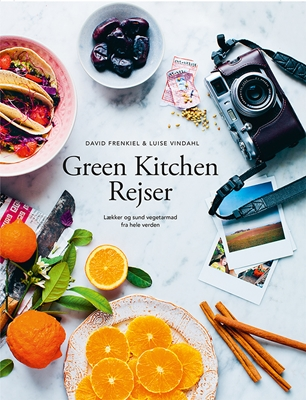 Green Kitchen Rejser Luise Vindahl, David Frenkiel 9788793137059