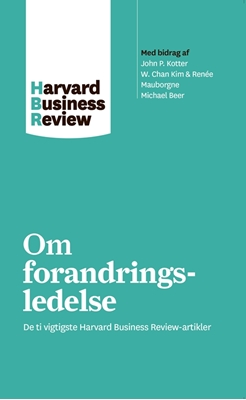 Om forandringsledelse Harvard Business Review 9788702226850