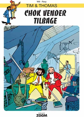 Tim & Thomas: Chok vender tilbage Will 9788793244597