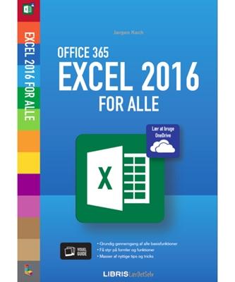 Excel 2016 for alle Jørgen Koch 9788778537584