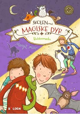 Skolen med magiske dyr 3: Buldermørke Margit Auer 9788772050096