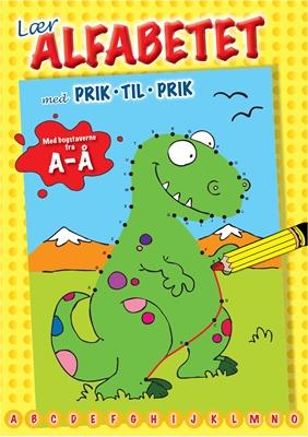 Lær alfabetet med prik til prik Ukendt forfatter 9788771061710