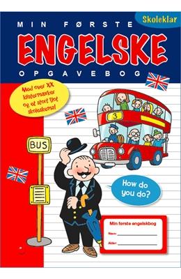 Min første engelske opgavebog  9788771065046