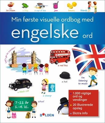Min første visuelle ordbog med engelske ord  9788771064964