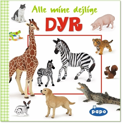Alle mine dejlige dyr (Papo)  9788772050737