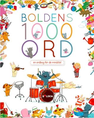 Boldens 1000 ord  9788771065893