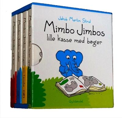 Mimbo Jimbos lille kasse med bøger Jakob Martin Strid 9788702164145