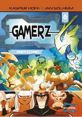 Gamerz 6 - Professionel Jan Solheim, Kasper Hoff 9788702245011