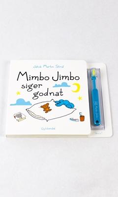 Mimbo Jimbo siger godnat (med tandbørste) Jakob Martin Strid 9788702190144