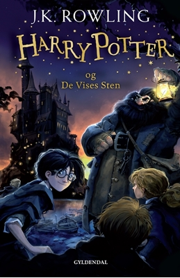 Harry Potter 1 - Harry Potter og De Vises Sten J. K. Rowling 9788702173222
