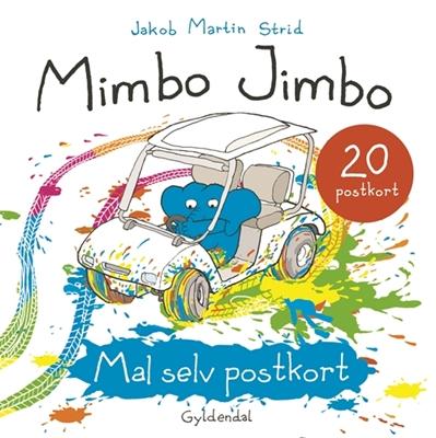Mimbo Jimbo Mal selv postkort Jakob Martin Strid 9788702214925