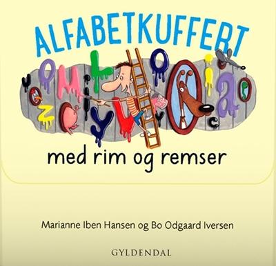 Alfabetkuffert med rim og remser Marianne Iben Hansen 9788702165326