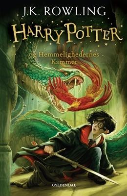 Harry Potter 2 - Harry Potter og Hemmelighedernes Kammer J. K. Rowling 9788702173239