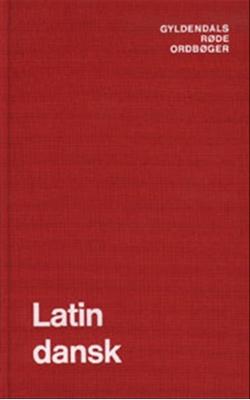 Latin-Dansk Ordbog Thure Hastrup 9788700136915