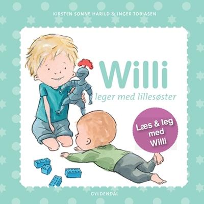 Willi leger med lillesøster Inger Tobiasen, Kirsten Sonne Harild 9788702178043