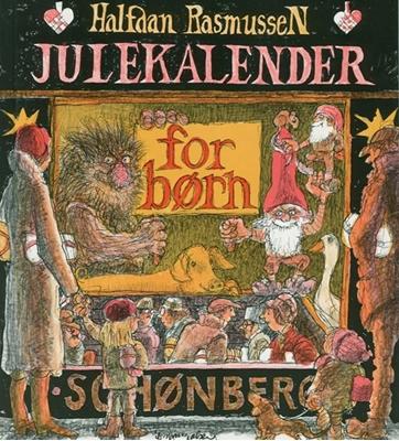Julekalender for børn Halfdan Rasmussen 9788757017885