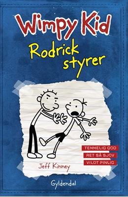 WIMPY KID 2 Rodrick styrer Jeff Kinney 9788702126761