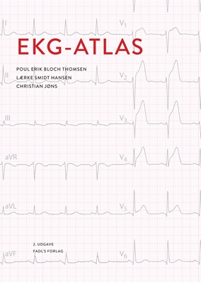 EKG-atlas Lærke Smidt Hansen, Poul Erik Bloch Thomsen Christian Jøns 9788777497308