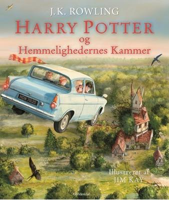 Harry Potter Illustreret 2 - Harry Potter og Hemmelighedernes Kammer J. K. Rowling 9788702204681