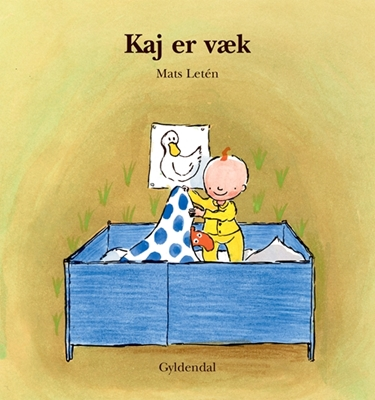 Kaj er væk Mats Letén 9788700209961