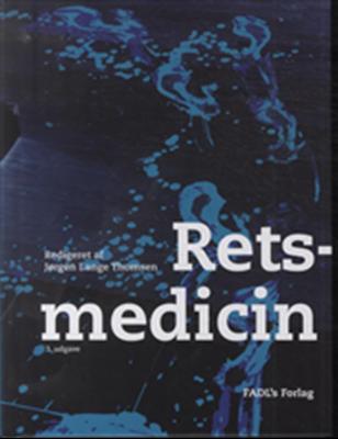 Retsmedicin Jørgen Lange Thomsen (red.) 9788777497148