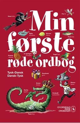 Min første røde ordbog Gyldendal Ordbogsredaktion 9788702170399