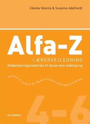 Alfa-Z 4-6  Lærervejledning Zdenka Valenta, Susanne Adelhardt 9788702044492