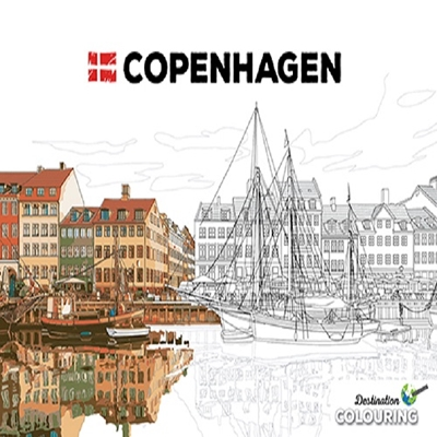 Colouring Copenhagen  9788771189643