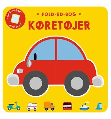 Fold-ud-bog: Køretøjer  9788772050812