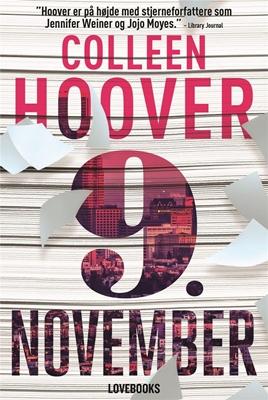 9. november Colleen Hoover 9788711568484