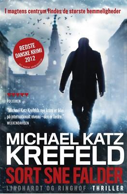 Sort sne falder, pb. Michael Katz Krefeld 9788711377345