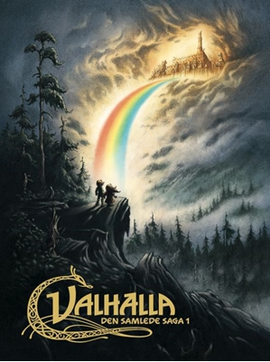 Valhalla - Den samlede saga 1 Peter Madsen, Henning Kirk, Henning Kure 9788711424483