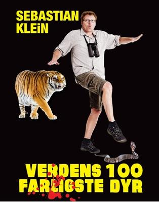 Verdens 100 farligste dyr Sebastian Klein 9788711462744