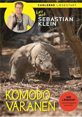 Læs med Sebastian Klein - Komodovaranen Sebastian Klein 9788711536537