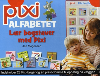 Pixi-alfabetet - Lær bogstaver med Pixi Jan Mogensen 9788711427118