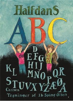 Halfdans ABC papbog, jubilæumsudgave Halfdan Rasmussen 9788711690727