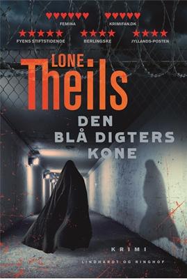 Den blå digters kone Lone Theils 9788711690369