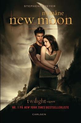 Twilight 2 - New Moon - Nymåne (filmomslag), pb. Stephenie Meyer 9788711391488
