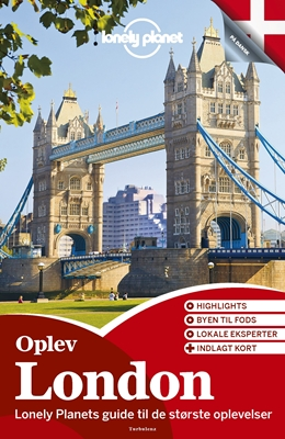 Oplev London (Lonely Planet) Lonely Planet 9788771480788