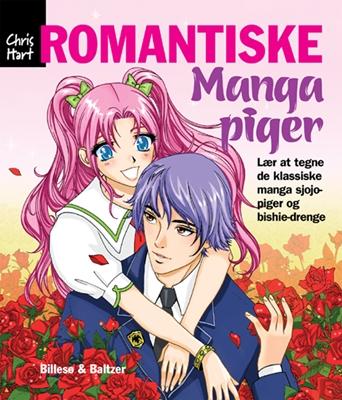 Lær at tegne Romantiske Manga-piger Christopher Hart 9788778423030