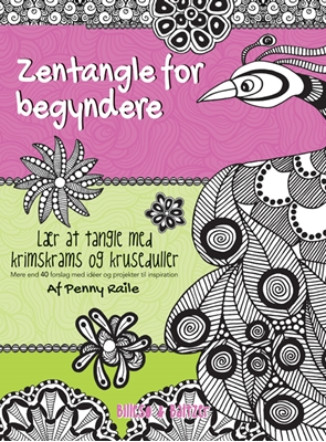 Zentangle for begyndere Penny Raile 9788778423566