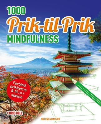 1000 Prik til prik - Mindfulness Chris Bell 9788778423894