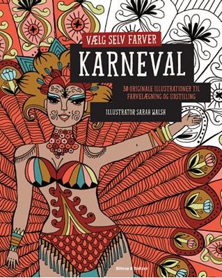 Vælg selv farver - Karneval Sarah Walsh 9788778423436