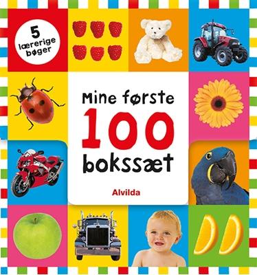 Mine første 100 - bokssæt (5 lærerige bøger)  9788741501031